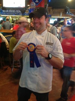 April 2013 - The MAT Chili Cook Off - Winner Omar